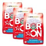 Boron Doğal Mineralli Temizlik Ürünü 4 Kg 26 Yıkama x 3 Adet
