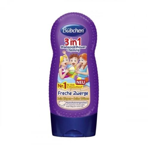 Bübchen 3ü 1 Arada Çocuk Şampuanı ve Duş Jeli 230 ml