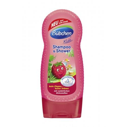 Bübchen Frambuazlı Çocuk Şampuanı ve Duş Jeli 230 ml