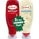 Calve Ketçap 600 gr + Mayonez 540 gr