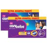 Canbebe Bebek Bezi Özel Paket Extra Large 6 Beden 72 li x 2 Adet