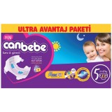 Canbebe Bebek Bezi Özel Paket Junior 5 Beden 88 li
