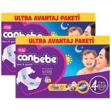 Canbebe Bebek Bezi Özel Paket Maxi 4 Beden 120 li x 2 Adet