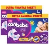 Canbebe Bebek Bezi Özel Paket Midi 3 Beden 136 lı x 2 Adet