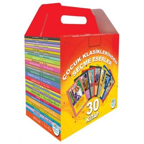 Çocuk Klasiklerinden Seçme Eserler İlkokul Seti (30 Kitap) - Kolektif