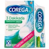 Corega Diş Protezi Yapıştırıcı 40 Gr + Temizleyici Tablet 30 Adet