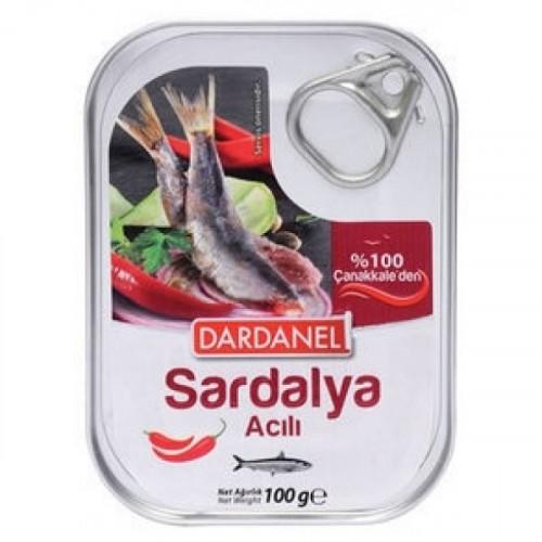 Dardanel Yağda Acılı Sardalya 105 gr