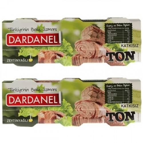 Dardanel Zeytinyağlı Ton Balığı 80 Gr 3 lü Paket x 2 Adet