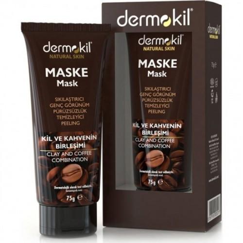 Dermokil Natural Skin Sıkılaştırıcı Kil ve Kahve İçerikli Maske 75 ml