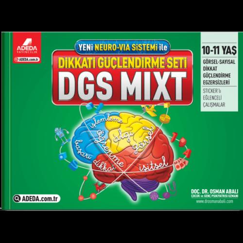 DGS MIXT Dikkati Güçlendirme Seti 10-11 Yaş - Osman Abalı