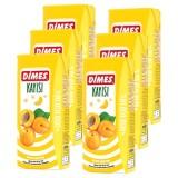 Dimes Meyve Suyu Kayısı 200 ml x 6 Adet