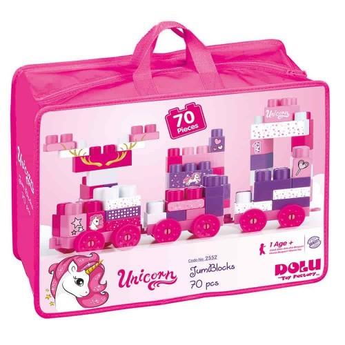 Dolu Unicorn Çantalı Mega Blok 70 Li 2552