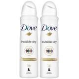 Dove Deodorant Sprey Invisible Dry 150 ml x 2 Adet