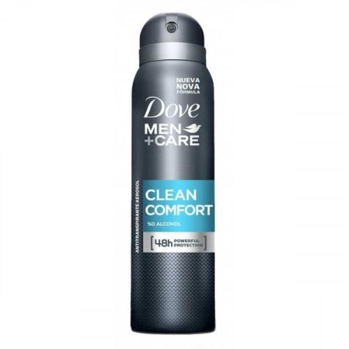 Dove Men Deodorant Sprey Clean Comfort 150 ml