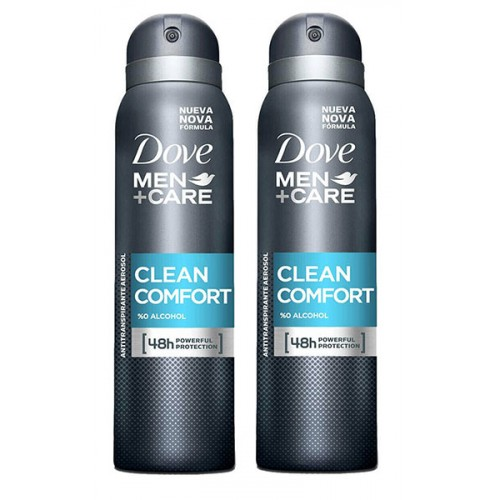 Dove Men Deodorant Sprey Clean Comfort 150 ml x 2 Adet