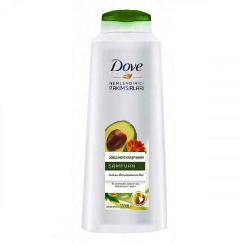 Dove Şampuan Dökülme Karşıtı Avakado Kalendula Özlü 550 ml