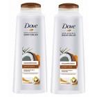 Dove Şampuan Güçlendirici Hindistan Cevizi ve Zerdeçal 550 ml x 2 Adet