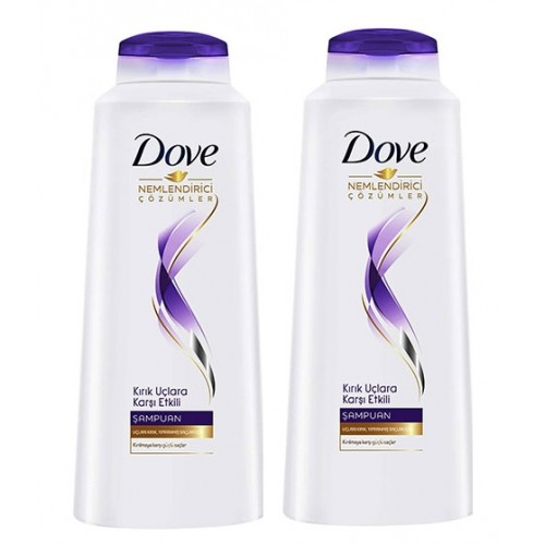 Dove Şampuan Kırık Uçlara Karşı Etkili 550 ml x 2 Adet