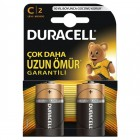 Duracell Alkalin C Orta Boy Pil 2 li Paket