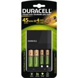 Duracell CEF14 Yüksek Hızlı Şarj Cihazı (4 Adet Pil İçerir)