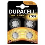 Duracell Düğme Pil 2032 4 lü 3 Volt