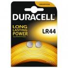 Duracell Düğme Pil LR44 2 li 1.5 Volt