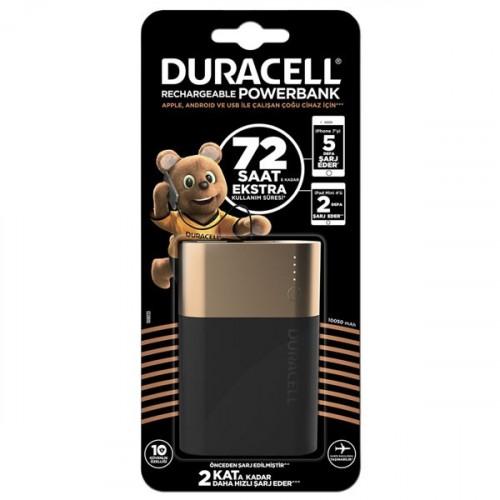 Duracell Powerbank 10050 mAh (72 Saate Kadar Dayanıklı)