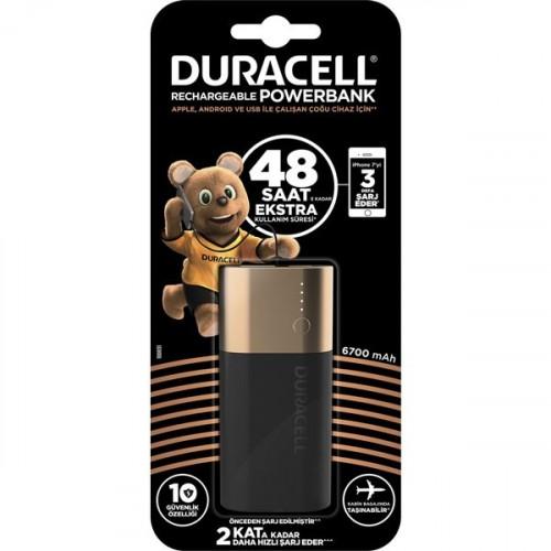 Duracell Powerbank 6700 mAh (48 Saate Kadar Dayanıklı)