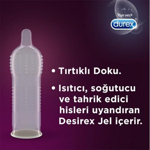 Durex Intense Uyarıcı Prezervatif 20 li