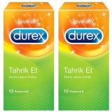 Durex Prezervatif Tahrik Et 12 li x 2 Adet