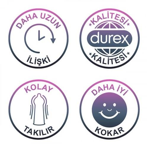 Durex Uzayan Zevk Kondom 20 li x 3 Adet (60 Adet)