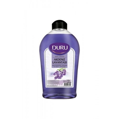 Duru Çiçek Terapisi Akdeniz Lavantası Sıvı Sabun 1500 ml