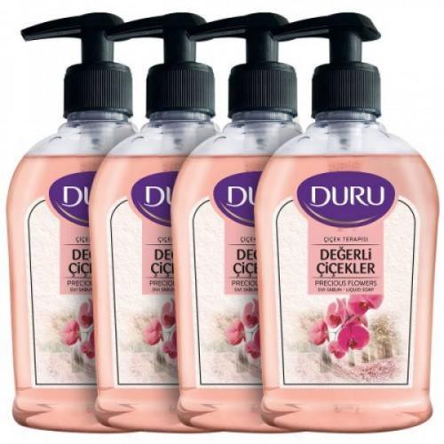 Duru Çiçek Terapisi Değerli Çiçekler Sıvı Sabun 300 mlx 4 Adet