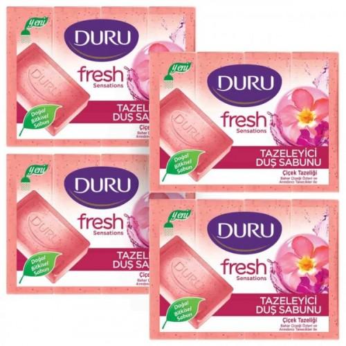 Duru Fresh Sensations Çiçek Tazeliği Duş Sabunu 600 gr 4'lü Paket