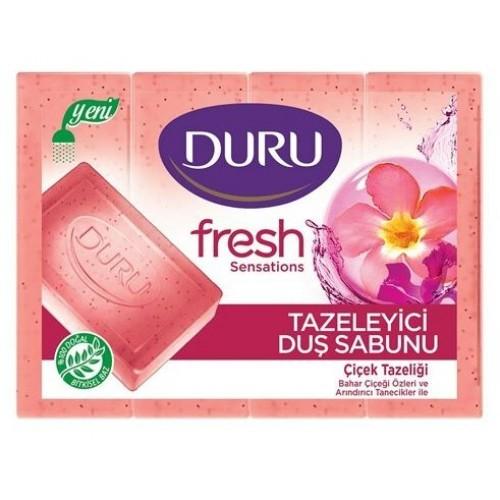 Duru Fresh Sensations Çiçek Tazeliği Duş Sabunu 600 gr (4x150)
