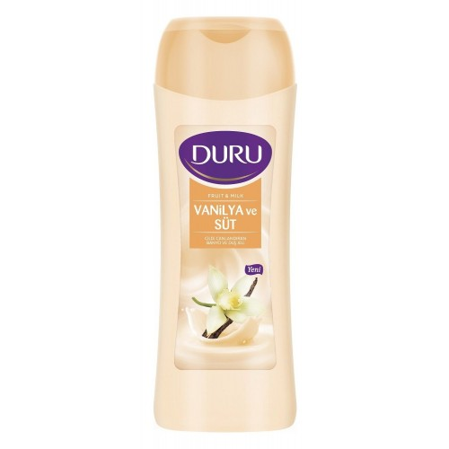 Duru Fruit & Milk Vanilya ve Süt Duş Jeli 450 ml