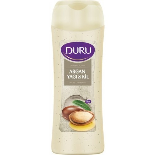 Duru Mineral Action Duş Jeli Argan Yağı & Kil 500 ml