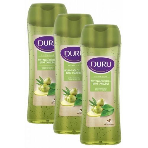 Duru Natural Olive Doğal Zeytinyağlı Duş Jeli 3 x 450 ml