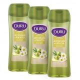 Duru Natural Olive Zeytinyağı ve Papatya Duş Jeli 3 x 450 ml