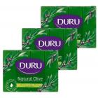 Duru Natural Olive Zeytinyağlı Kalıp Sabun 160 gr 4 lü x 3 Adet