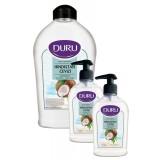 Duru Nem Terapisi Hindistan Cevizli Sıvı Sabun 1500 + 300 ml + 300 ml