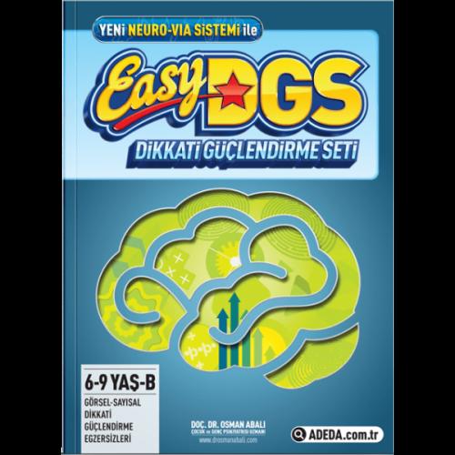 Easy Dikkati Güçlendirme Seti 6-9 Yaş B Kitapçığı - Osman Abalı