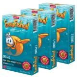 EasyVit Easy Fish Oil Omega 3 Balık Yağı 30 Jel Tablet x 3 Adet