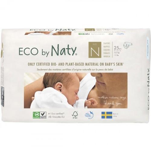 Eco By Naty Bebek Bezi Yenidoğan 0 Beden 25 li