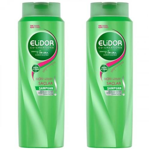 Elidor Şampuan Sağlıklı Uzayan Saçlar 500 ML x 2 Adet