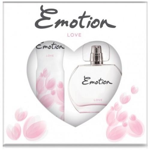 Emotion Love Parfüm 50 ml +  Deodorant 150 ml