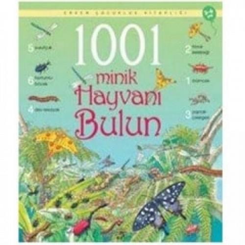 Erken Çocukluk Kitaplığı: 1001 Minik Hayvanı Bulun (3-6 Yaş) - Emma Helbrough