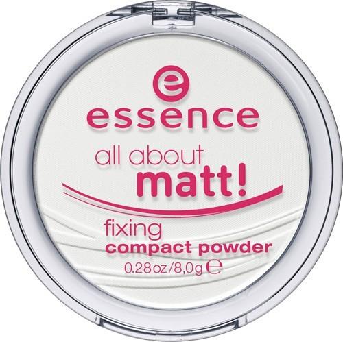 Essence All About Matt! Fixing Compact Powder Sabitleyici Mat Pudra