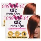 Essweet Saç Renk Açıcı x 2 Adet
