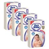 Evy Baby Bebek Bezi Jumbo Midi 3 Beden 45 li x 4 Adet
